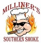 Logo of Milliner's Southern Smoke Food Truck